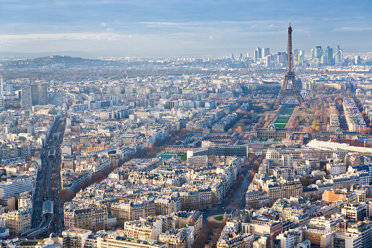 image Marché de l'immobilier de luxe à Paris