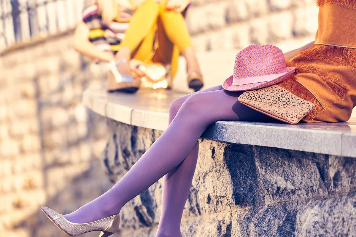 image Collant et bas tendance pour avoir de jolies jambes
