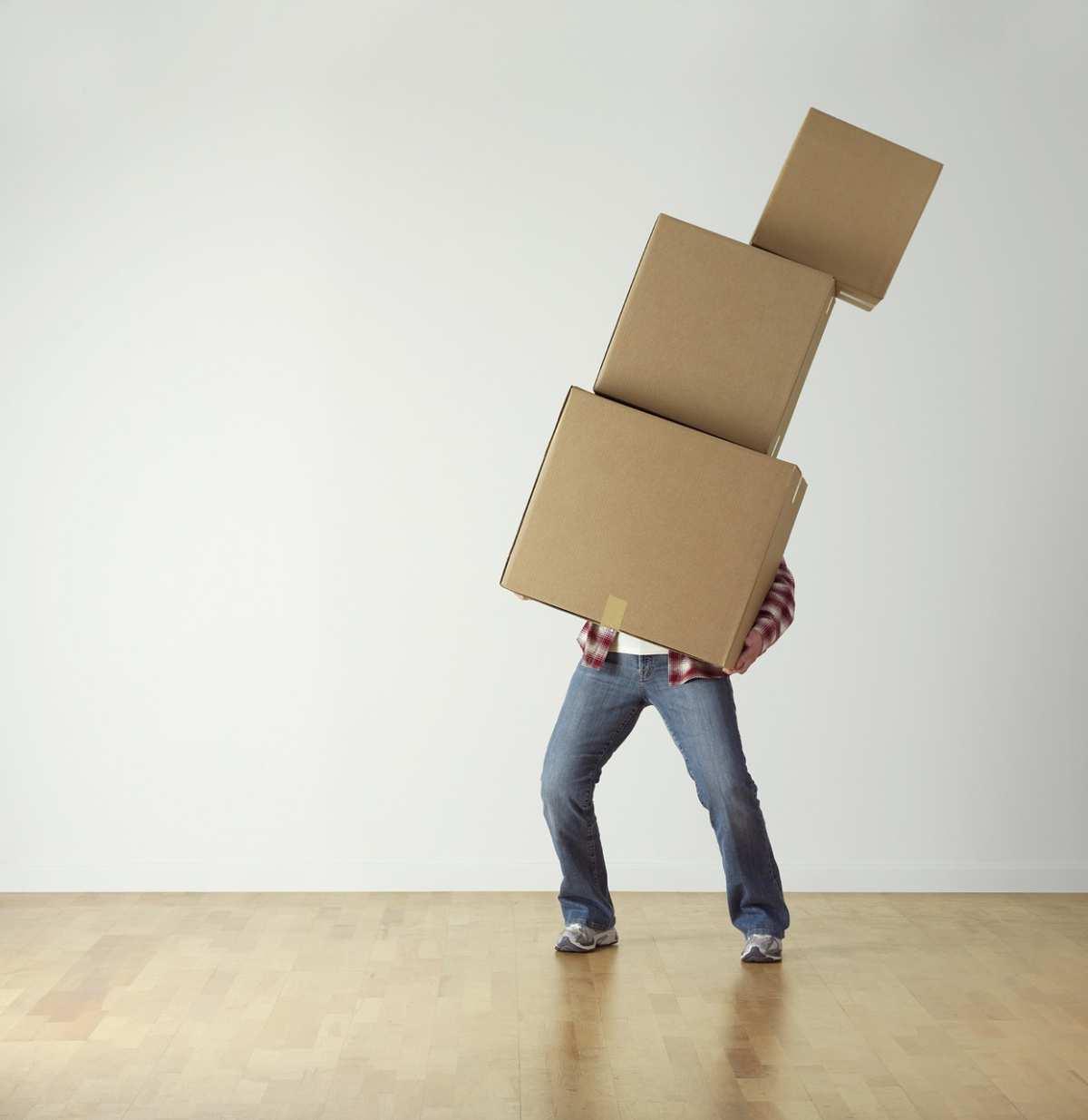 image Utiliser un garde meuble lors d'un déménagement.