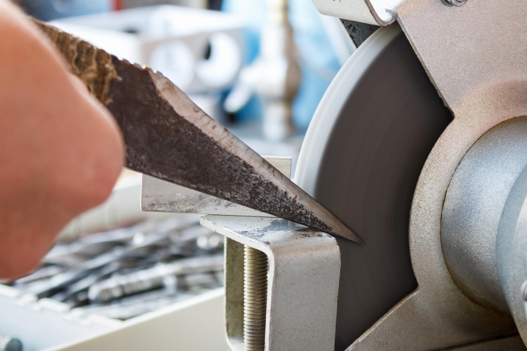 image Comment affûter les lames des ses outils ?