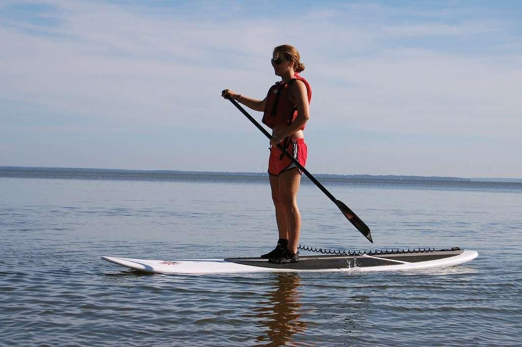 image Conseils pour le SUP: Utiliser un stand up paddle
