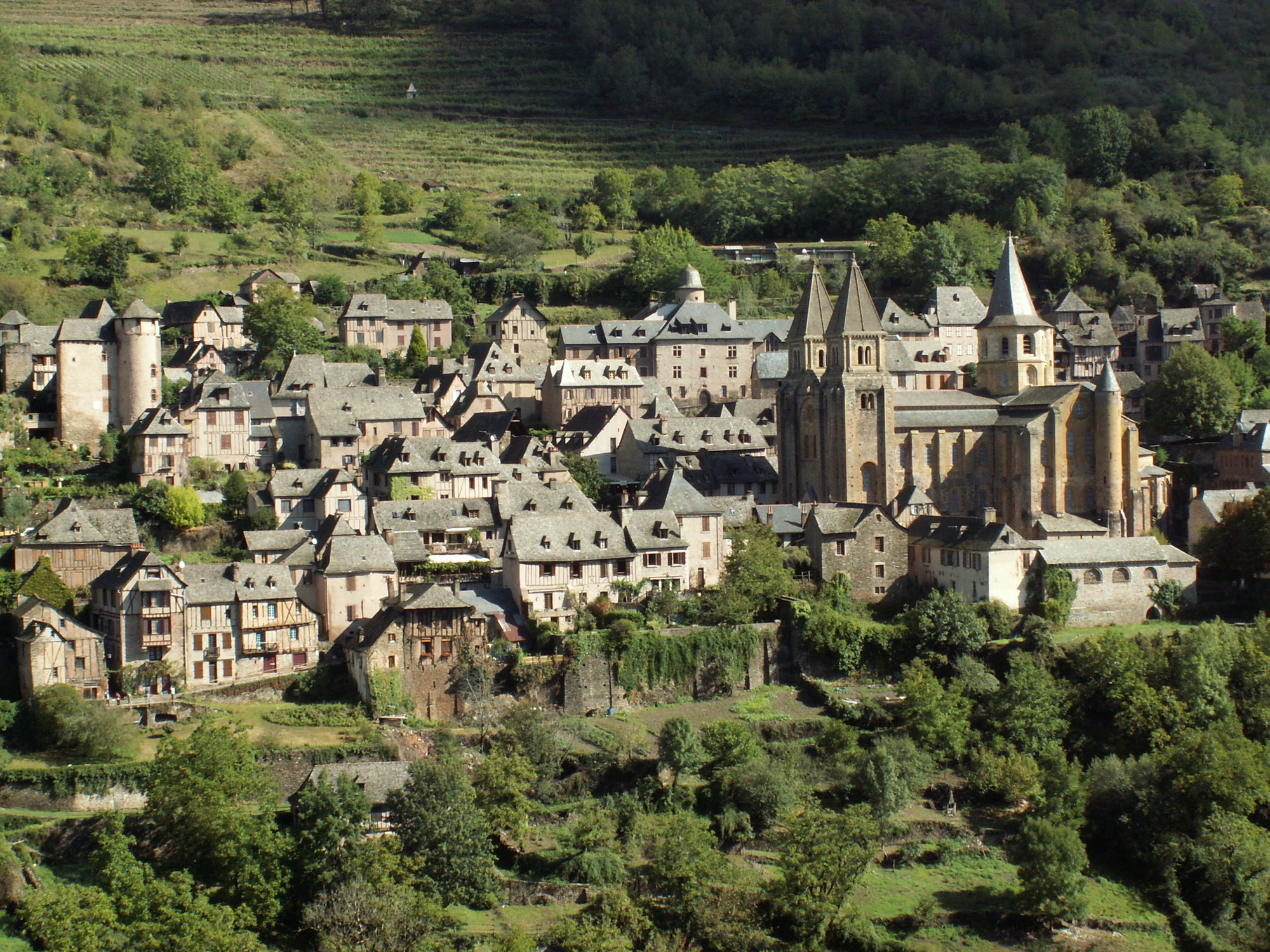 image Découverte du village de Conques