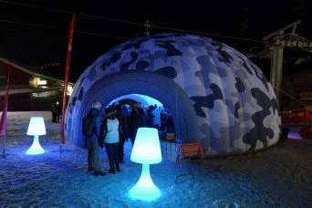 image Pourquoi louer un igloo gonflable ?